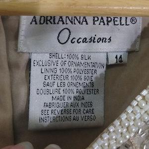 Adrianna Papell Tops - Adrianna Papell Fully Beaded Tank